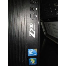 Workstation Hp Z200 Xeon / 4gb Ddr3 / Hd 250gb /vga Fx 580