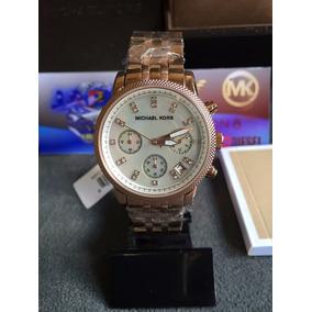 c8752a7afbe52 Relogio Michael Kors Mk5026 Rose - Relógios De Pulso no Mercado ...