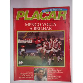 Placar Nº 745 - 31 Agosto 1984 - Flamengo Joaquim Cruz Carl