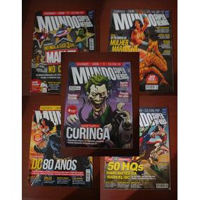 Revista Mundo Dos Super Herois - Ed. Europa