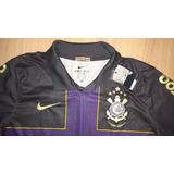 Camisa Corinthians Ronaldo 2010 Centenário Nike Cruz Roxa