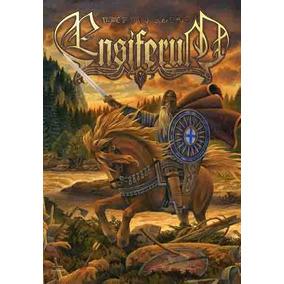 Bandeira - Ensiferum - Disturbed - Poster - Rock - Carta