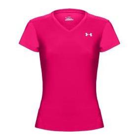 Under Armour Heatgear Pink Playera Rosa Talla Md