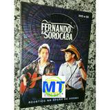 Oferta! Fernando & Sorocaba Dvd+cd Acústico Frete Grátis.