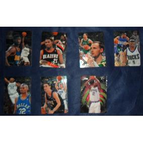 Card Basquete - Lote Com 7 Flair 95/96