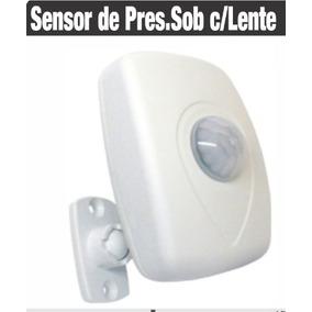 Sensor De Presença   Fotocélula   Lente 360º   Bivolt