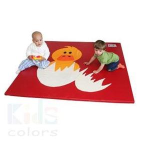 Colchoneta Patito De Texturas Estimulación Kids Colors