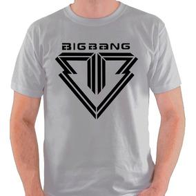 ab64db6cd0077 Camiseta Bigbang Camisa Big Bang Banda Kpop K Pop Blusa · 2 cores