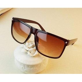 f137ee3285266 Óculos De Sol Marrom Luxo Mulher Homem Unissex Importado - Óculos no ...