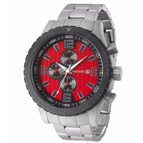 53150858ce1 Relógio Masculino Magnum Vermelho De Luxo - Relógios De Pulso no ...