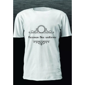 96cf362cfdce7 Uniforme Camiseta Com Logo Personalizado