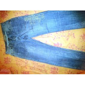 Remato Jeans Nuevo Con Bordado Especial