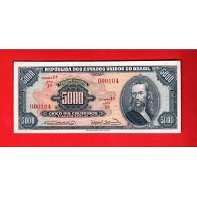 Pn0030 - C057 - 5000 Cruzeiros 1ª Série Nr 000104