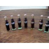 Mini Botellas Del Mundo De Coca Cola Años 80´s -mde