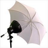 Sombrilla Blanca Traslúcida Para Fotografía 83cm