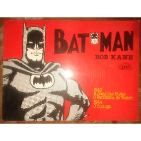 Batman Bob Kane Lpm Quadrinhos 70 Páginas Raro