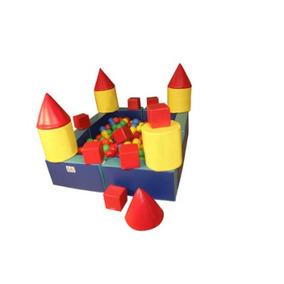 Castillo Alberca De Pelotas Marca Kids Colors Envío Gratis