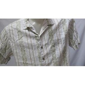 f756e8429da32 Camisa Casual Moderna Com Desenhos Tribais - Camisa Manga Curta no ...