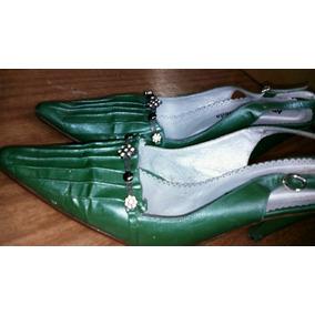 25b3e7039c Zapato Plataforma - Stilletos de Mujer Verde musgo en Mercado Libre ...