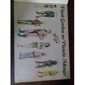 Álbum Capa Dura Do Flash Gordon ..projeto De Pintura A Mão