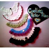 Docena Collar-cuello Tipo Peterpan Crochet Tejido