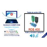 Tarjeta/adaptador Sonido/audio 5.1 3d Usb Pc Y Laptop
