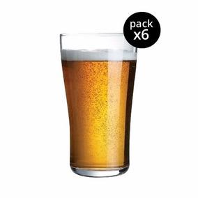 Vaso Ultimate Pinta Y Media Pinta Cerveza Arcoroc Vidrio X6u