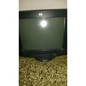Monitor Hp Modelo 5502.en Buen Estado 14 Pulgada En 9$