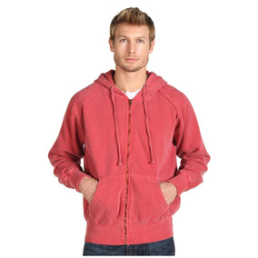 Fitzwell Syd Washed Fleece Zip Hoodie Xl