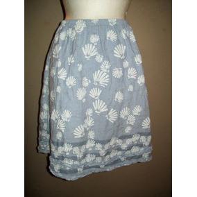 Faldas Cortas Otros Estilos de Mujer Azul claro en Mercado Libre México 1382374f4370