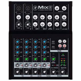 Mesa/mixer Mackie Mix8 Ultra Compacto - Ms0049