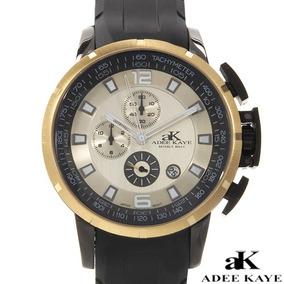 Reloj Adee Kaye Estilo Deportivo Con Cronografo
