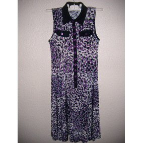 Vestido Midi Para Dama Talla 5 Color Violeta