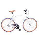 Bicicleta De Ruta Royal London Fixie De Importación Blanca