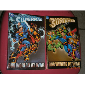 Superman - Our Worlds At War - 2 Volumes Importados