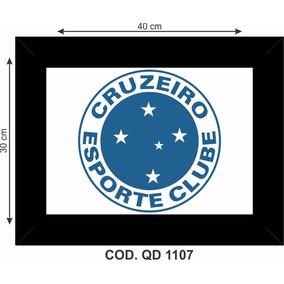 2ec90a94f1 Quadro Cruzeiro Esporte Clube - Arte e Artesanato no Mercado Livre ...