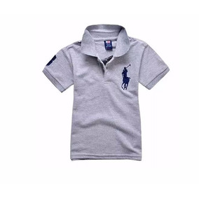 Camiseta Polo Infantil Pronta Entrega Menino Camisa 529bd9b9f783c