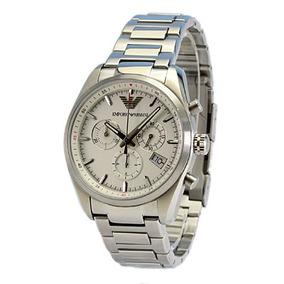 cb8e9f68cf8 Emporio Armani Chrono Ar 5839 Borracha(ea152) - Relógios no Mercado ...