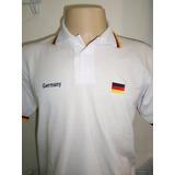 Camisa Polo Germany Alemanha no Mercado Livre Brasil 606642fe6776d