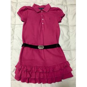 Vestido Infantil Pink Ralph Lauren 69bb437db8b