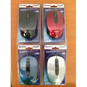 Mouse Optico Usb Nycetek En Blister (somos Tienda)