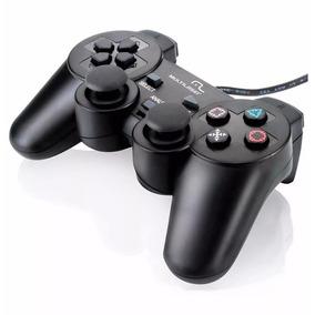 Controle Analógico Joystick Para Pc Usb Dualshock Multilaser