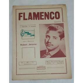 Partitura Antiga - Flamenco - Robert Jerome - Eduardo Farrel