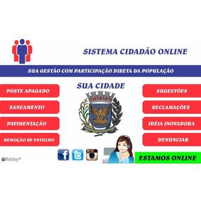 Sistema Completo Para Cidadão Online Prefeituras E Câmaras
