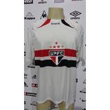 Camisa De Jogo São Paulo Reebok #42 Tm G