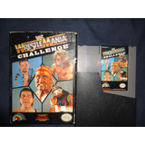 Juego Nintendo Wwf Wrestlemania Challenge