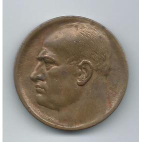 Medalha Antiga Mussolini
