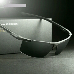 Lentes De Sol Hombre Polarizados Uv400 Veithdia Aluminio Hd