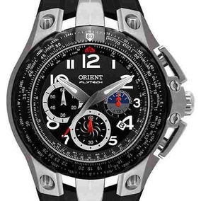 Relógio Orient Mbtpc002 Titânio Flytech Visor Preto 100m