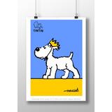 Afiche Poster Perro Milú De Tintín